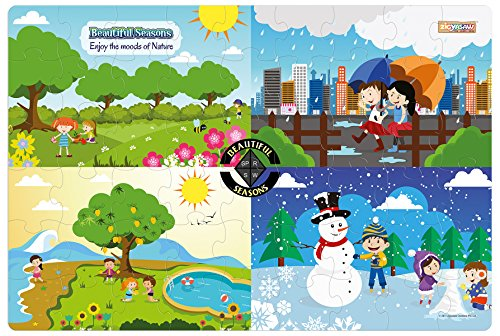 Zigyasaw Beautiful Seasons Premium Giant Floor Puzzle Game | Creative Challenging Puzzles for Kids(Above 3 Years)