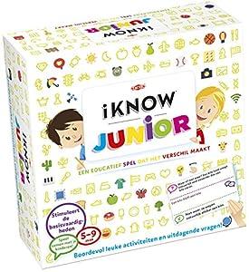 Tactic iKNOW Junior Niños Juego Educativo - Juego de Tablero (Juego Educativo, Niños, 30 min, Niño/niña, 5 año(s), 400 Pieza(s))