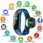 Fitness Tracker/Smart Bracelet,HD Color Screen IP68 Waterproof M3 PLUS Activity Tracker Wristband With Blood Pressure...