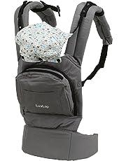 Luvlap Elite Baby Carrier (Gray)