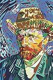 Vincent Van Gogh: Pop Art Style Lined Notebook