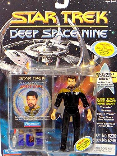 Uniform Ds9 (Lieutenant Thomas Riker in DS9 Uniform - Actionfigur - Star Trek Deep Space Nine von)