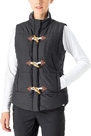 NAVISKIN Damen Steppweste /ärmellos Outdoorweste weich Thermoweste Stehkragen 2 Eingriffstaschen 1 Brusttasche Knebelverschluss /Übergangszeit