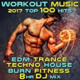 Workout Music 2017 Top 100 Hits EDM Trance Techno House Burn Fitness 2 Hr DJ Mix