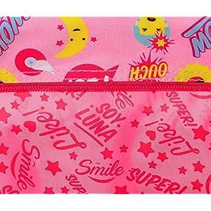 61t8ylvrqiL. SS300  - Disney Soy Luna Smile Neceser de Viaje, 22 cm, 1.32 litros, Multicolor