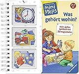 Was gehört wohin?: Mein großes Spielbuch mit 22 Magnetteilen. Ab 24 Monaten (ministeps Bücher) - Irmgard Eberhard