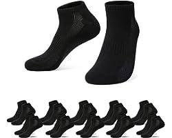Falechay Chaussette Basses Hommes Femme 10 Paires Socquettes de Sport Coton Courtes