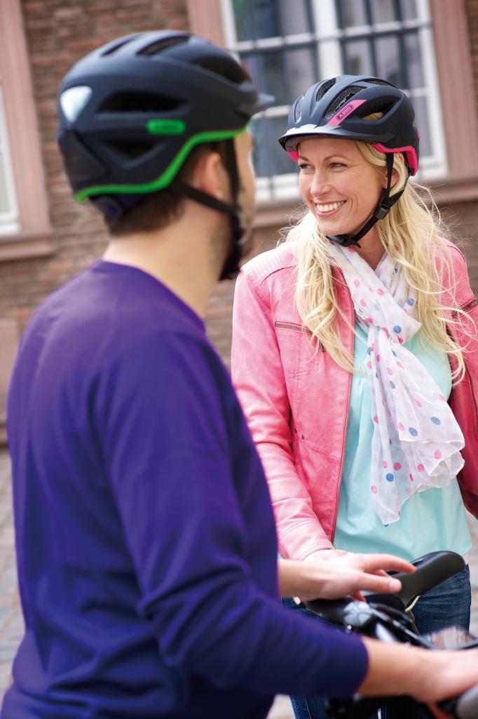 abus fahrradhelm pedelec sport freizeit