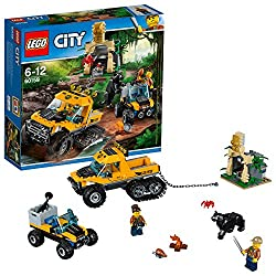 "Lego Uk 60159 ""Jungle Halftrack Mission Construction Toy"