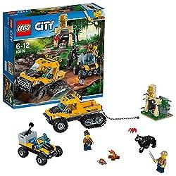 "Lego Uk 60159 ""Jungle Halftrack Mission Construction Toy"