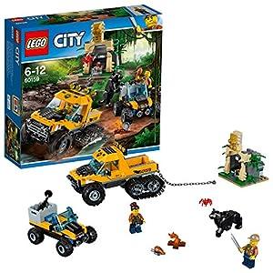 LEGO- City Jungle Explorers Missione nella Giungla con Il Semicingolato, Multicolore, 60159  LEGO
