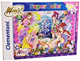Clementoni 27253 - SuperColor Puzzle Winx: Fairy And Roses, 104 Pezzi