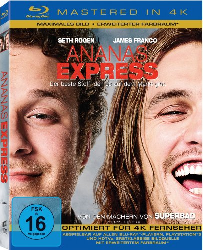 Ananas Express (Mastered in 4K) [Blu-ray]