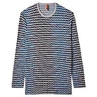 John Galliano Thermal T-Shirt for Men - Multi Color