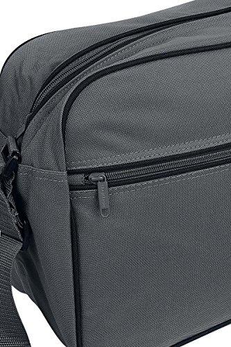 BagBase Retro Shoulder Bag Borsa a tracolla grigio/nero grigio/nero