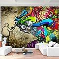 Fototapete Graffiti - Vliestapete - Wandtapete - Vlies Phototapete - Wand - Wandbilder XXL - !!! 100% MADE IN GERMANY !!! Runa Tapete 9066aP