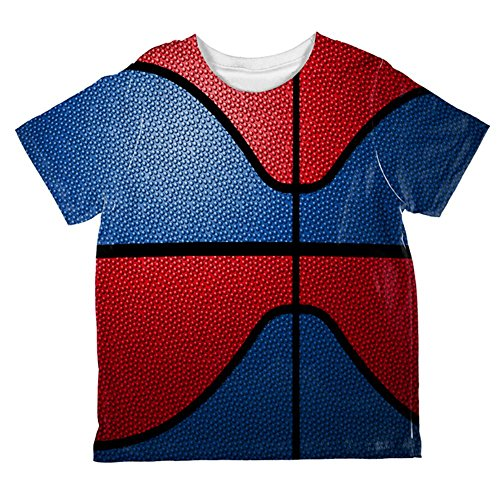 Championship Basketball Royal Blue & Red Ganz Kleinkind T-Shirt Multi 2T (Blue Royal Kleinkind T-shirt)