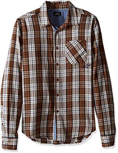 Alpinestars Process Long Sleeve Shirt Brown L (Alpinestars Long Sleeve Shirt)