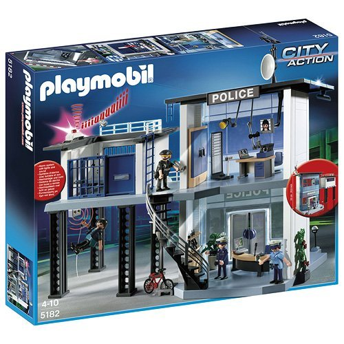 PLAYMOBIL CITY ACTION   COMISARIA DE POLICIA (5182)
