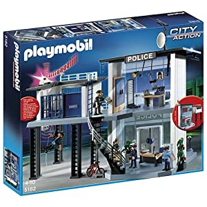 Playmobil City Action - Comisaría de policía (5182)