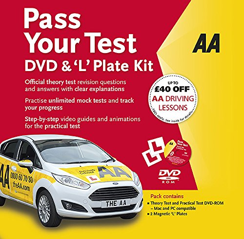 Pass Your Test DVD & 'L' Plate Kit (AA Driving Test Series)