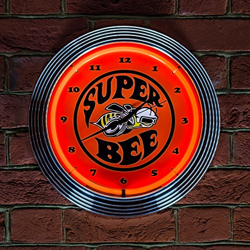 Superbee Dodge - Orologio al Neon (Non LED)