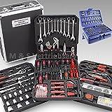 BITUXX 499-Teiliges Werkzeugkofferset Werkzeugkasten Werkzeugbox Werkzeugkiste Knarrenkasten