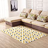 Neify - Traditionnel Collection Marocaine Design Géométrique Canapé Tapis Contemporain Anti Slip Salon Chambre Tapis Doux ( Color : Style 4 )