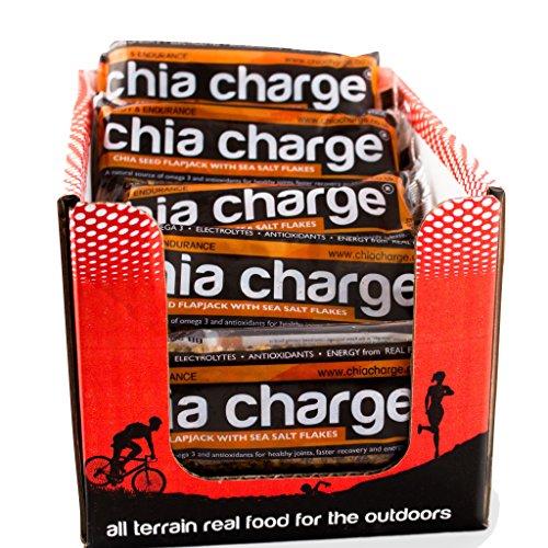 Chia Charge Flapjack sabor plátano (caja de 20)