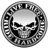 Pin Biker Cranio Hardcore