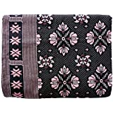 "COMFORT WEAVE Cotton 300 TC SOLUPURI CHADDAR Blanket (60"" X 90""_ Multicolor)"