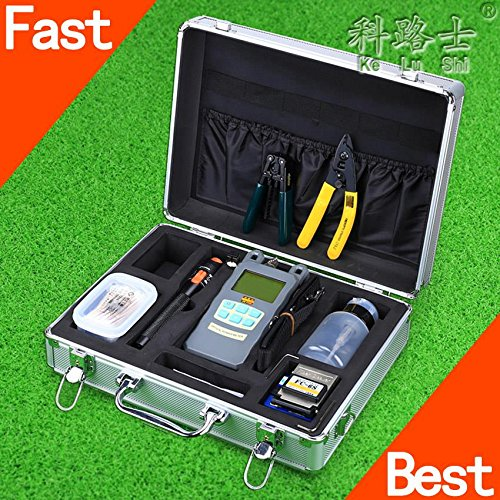 cruiser-22-in-1-ftth-fiber-optical-tool-kit-fc-6s-fiber-cleaver-optical-power-meter-10mw-visual-faul