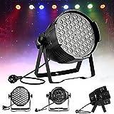Par Bühnenlicht, LED RGB Par Bühnenlicht Bühnenbeleuchtung DJ Hochzeit Party für Disco, Ballsaal, Party, Bar,Bühne, Club, Weihnachten Strahler (80W)