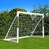 FORZA Soccer Cage 1,8 m x 1,2 m. Combinaison de but et de sac [Net World Sports] (Forza Cage de Foot 1.8x1.2m)