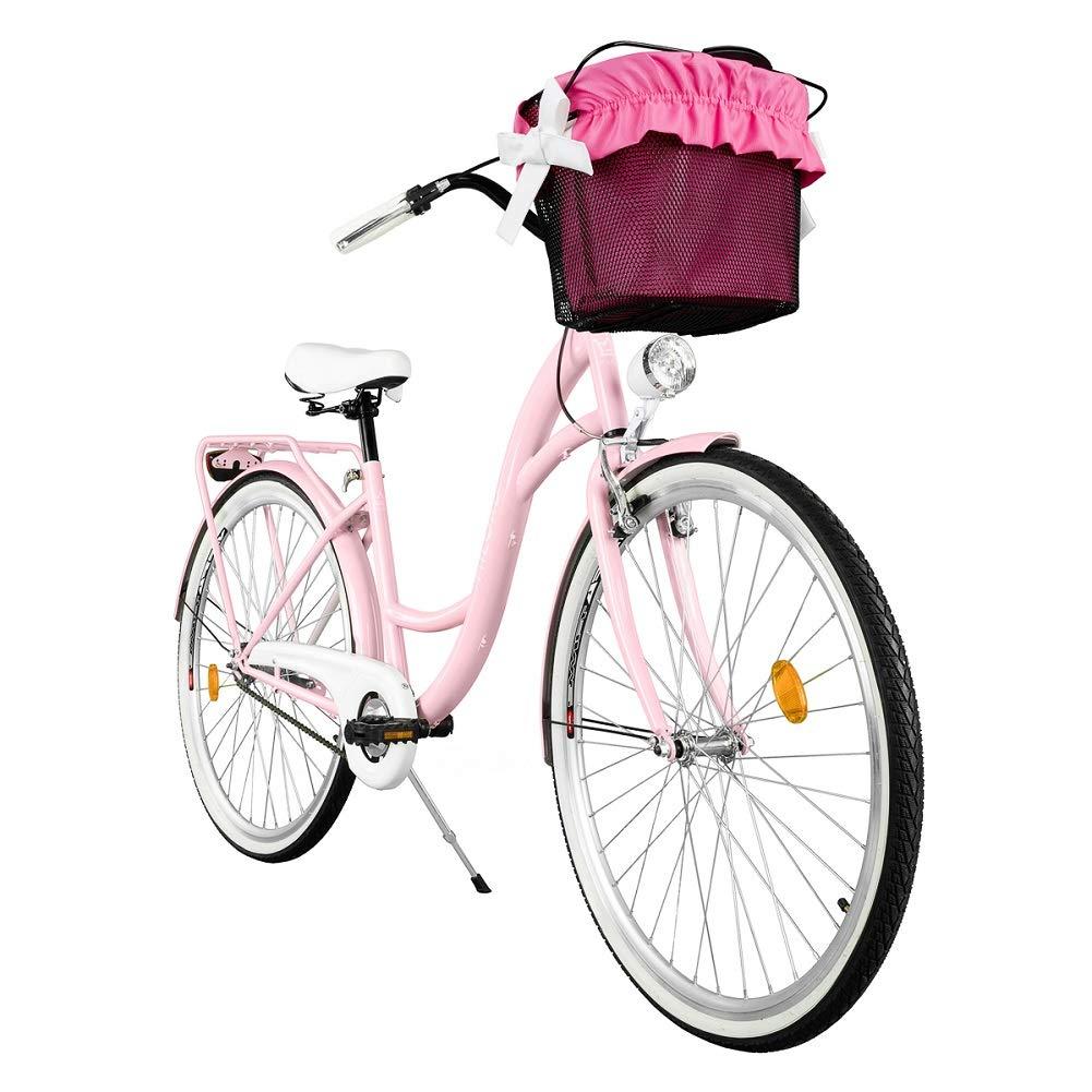 milord 2018 komfort fahrrad mit korb hollandrad. Black Bedroom Furniture Sets. Home Design Ideas