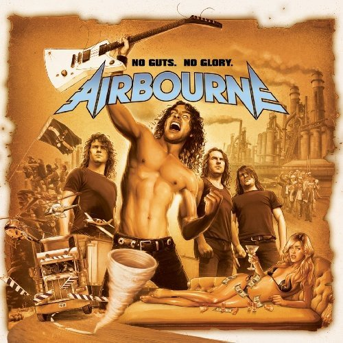 Airbourne: No Guts.No Glory. (Audio CD)