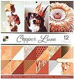 American Crafts Kupfer Luxe Premium Bedruckt Karton Stack