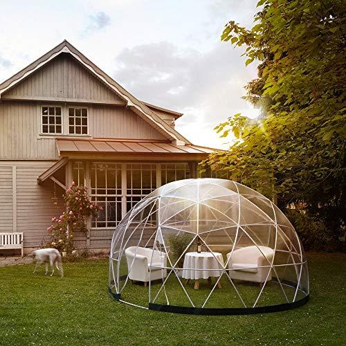 L&U Multi-PersonInflatable Blasenhaus im Freien, Familien-kampierende Hinterhof-transparente Luft-Hauben-Zelte mit freiem Gebläse