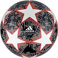 Adidas Finale18 - Balón de fútbol para Hombre, Parte Superior: Blanco/Negro/Gris/Rojo Solar, Parte Inferior: Gris/Plata metálica, 5