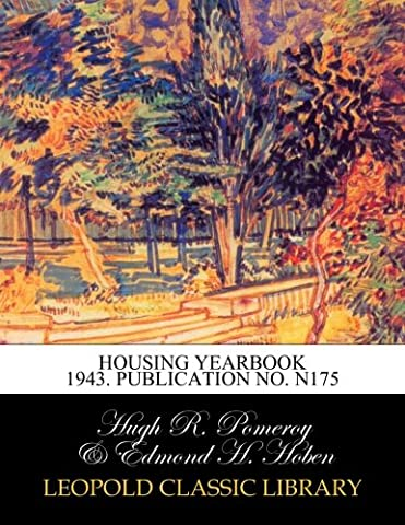 Housing yearbook 1943. Publication No. N175