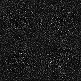 Kunstrasen Rasenteppich mit Noppen | Höhe ca. 7,5mm | 133, 200 und 400 cm Breite | anthrazit schwarz | Meterware, verschiedene Größen | Größe: 2,5 x 4 m