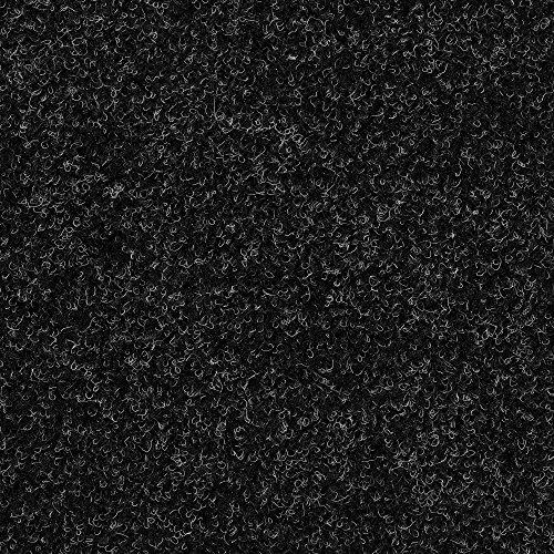 Kunstrasen Rasenteppich mit Noppen   Höhe ca. 7,5mm   133, 200 und 400 cm Breite   anthrazit schwarz   Meterware, verschiedene Größen   Größe: 3 x 4 m