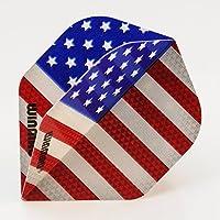 5 x Sets Winmau U.S.A Mega Standard Dart Flights by PerfectDarts
