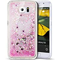 Copertura Morbido per la Samsung G935 Galaxy S7 Edge,Ukayfe Modello TPU Silicone Gel Custodia Case (Fiore Scatola Del Movimento)
