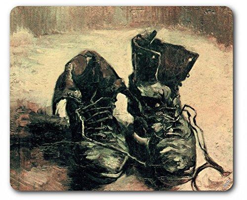Preisvergleich Produktbild 1art1 88928 Vincent Van Gogh - Stilleben, Ein Paar Schuhe, 1886 Mauspad 23 x 19 cm