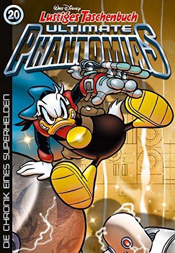 Buchcover Lustiges Taschenbuch Ultimate Phantomias 20: Die Chronik eines Superhelden