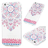 iPhone 6s Case, iPhone 6 Case, 3D Cute Creative Painted Pattern Ultra Slim Fit Anti-Scratch Crystal Silicone TPU Shockproof Rubber Skin Cover iPhone 6 /iPhone 6s Mavis