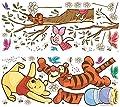 RoomMates RMK2463GM RM - Disney Winnie Puuh Schnapp den Honig Wandtattoo, PVC, Bunt, 48 x 13 x 2.5 cm von RoomMates - TapetenShop