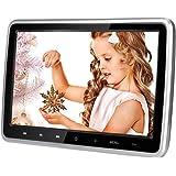 MiCarBa 10,1 Zoll Auto DVD-Player Ultra-Thin HD Fahrzeug Kopfstütze DVD-Player Monitor Rücksitz im Auto Entertainment System für Kinder mit HDMI USB SD Fernbedienung (CL101DVD)