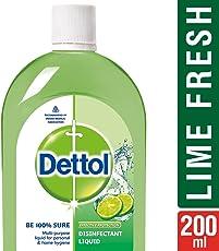 Dettol Lime Fresh Disinfectant Liquid - 200 ml